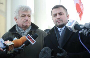 Piotr Ikonowicz i Piotr Guział