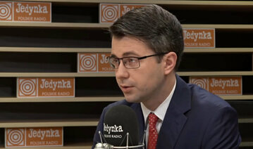 Piotr Müller, rzecznik rządu.
