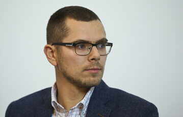 """Piotr Zychowicz, redaktor naczelny magazynu """"Historia Do Rzeczy"""""""