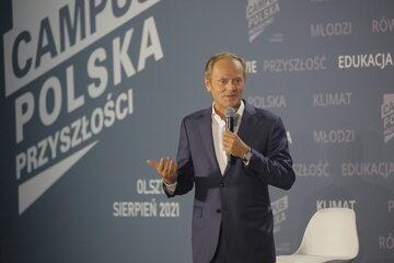 P.o. przewodniczącego Platformy Obywatelskiej Donald Tusk