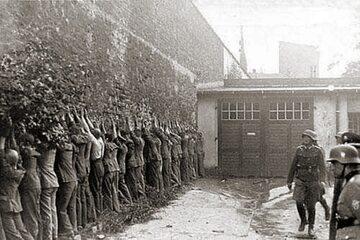 Pocztowcy po kapitulacji Poczty Polskiej w Gdańsku