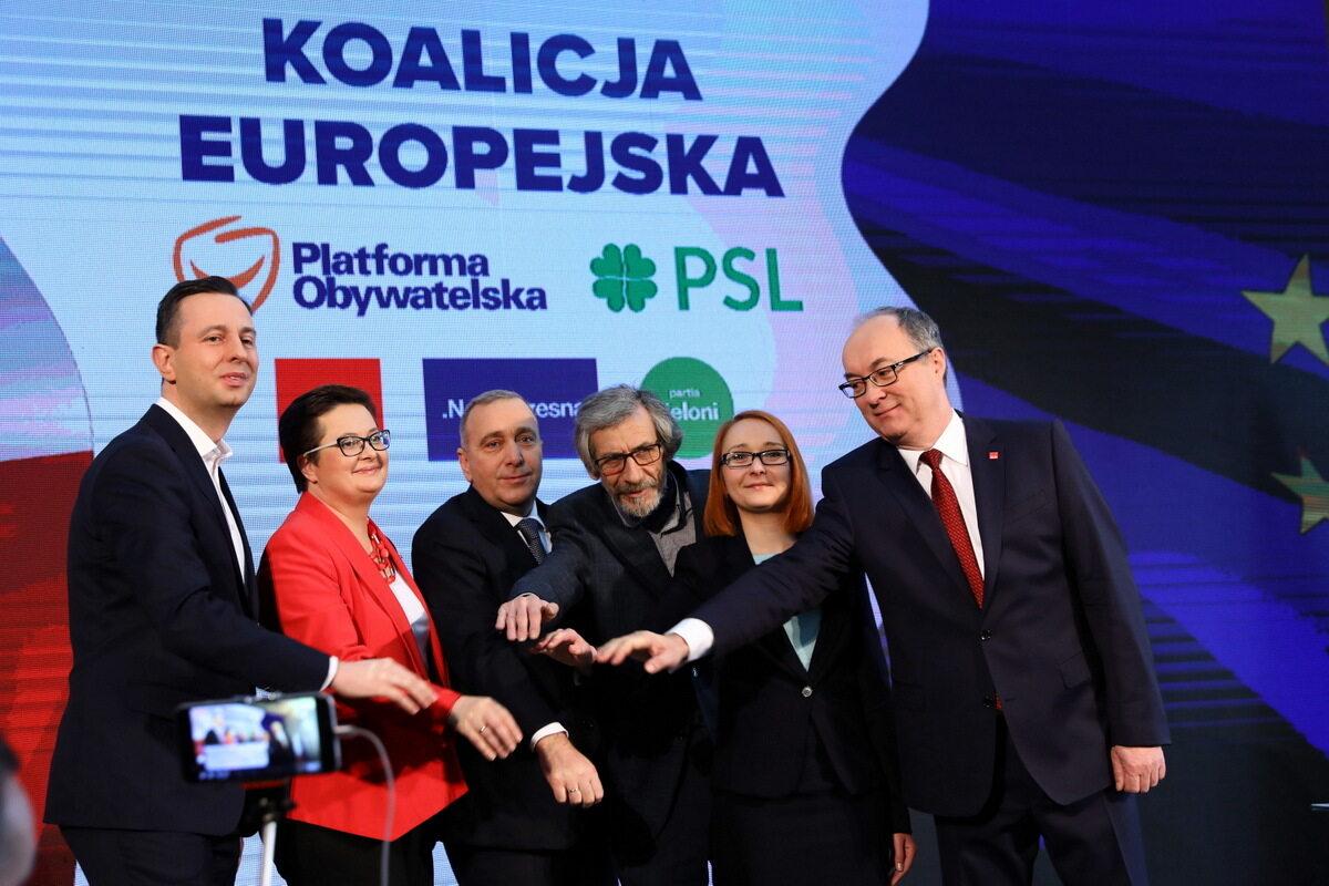 Podpisanie deklaracji o powołaniu Koalicji Europejskiej