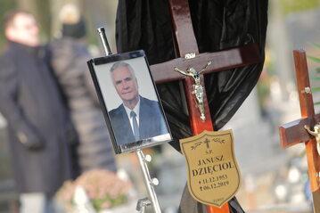 Pogrzeb Janusza Dzięcioła