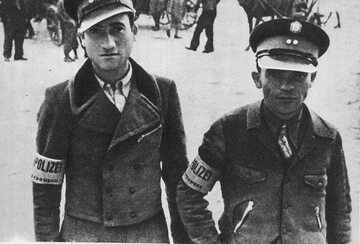Policjanci żydowscy w Węgrowie
