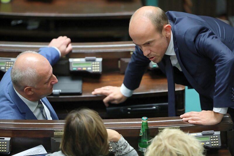 Politycy KO w Sejmie