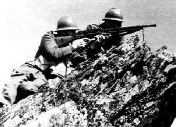 Polscy żołnierze podczas bitwy o Narwik