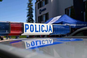 Polska policja. Zdjęcie ilustracyjne