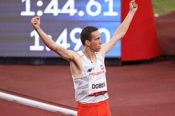 Polski biegacz Patryk Dobek