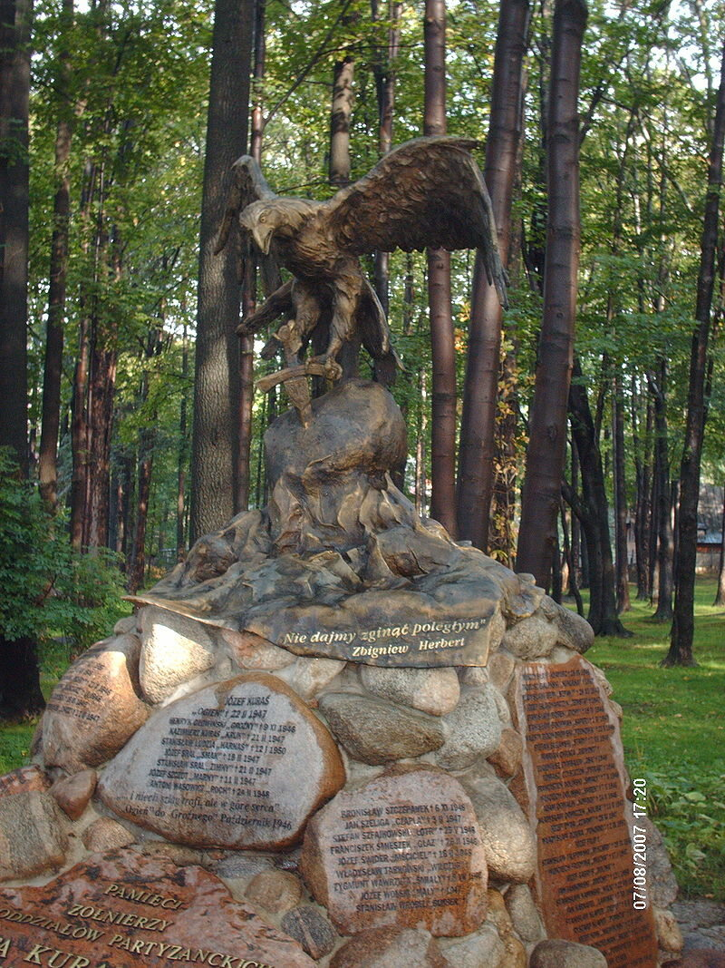 Pomnik Józefa Kurasia w Zakopanem