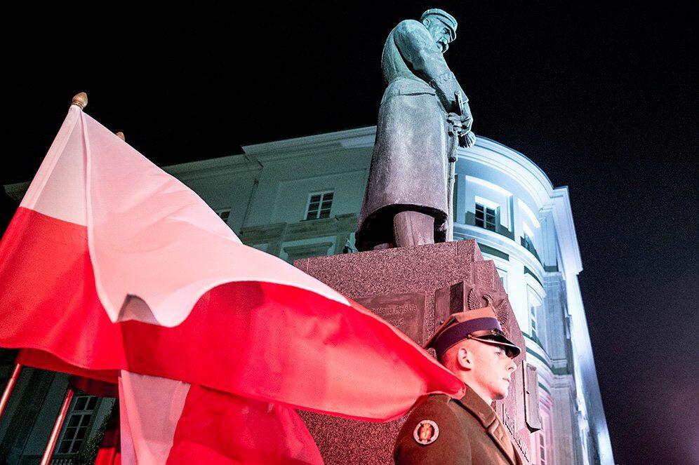 Pomnik Józefa Piłsudskiego w Warszawie