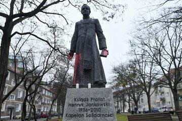 Pomnik księdza prałata Henryka Jankowskiego w Gdańsku