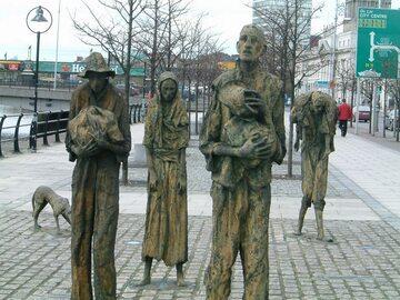 Pomnik upamiętniający głodujących, Dublin