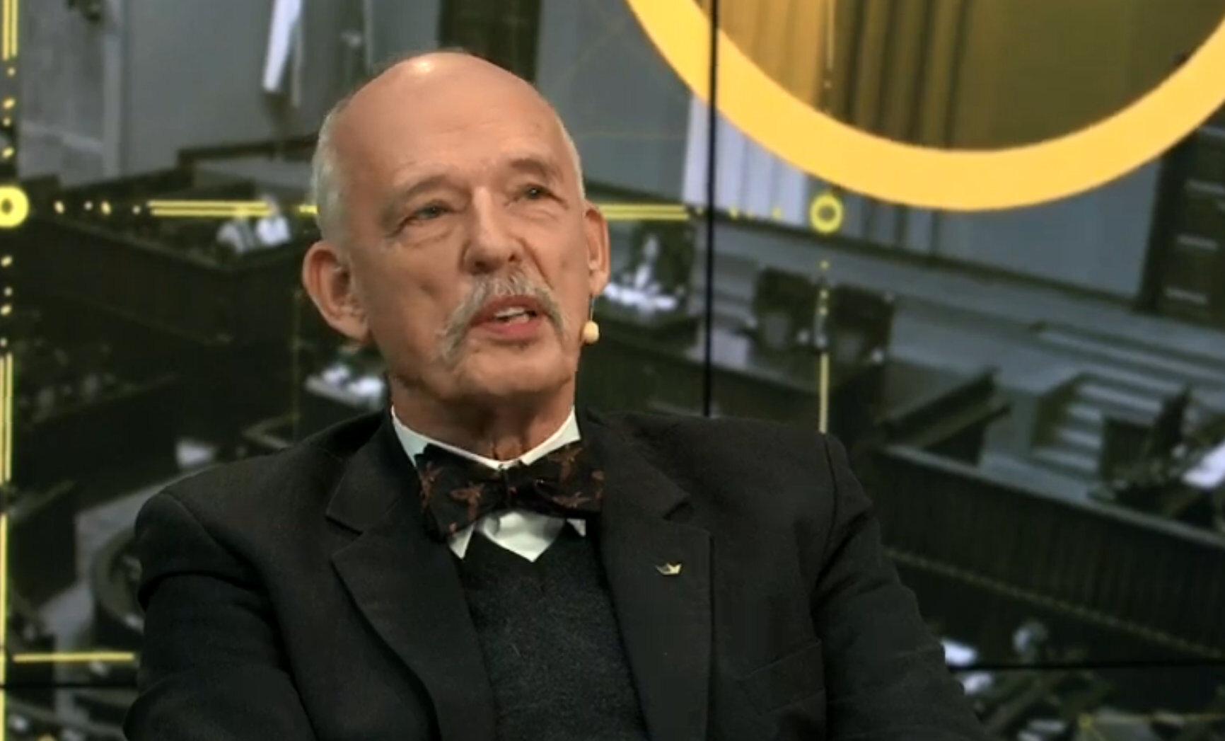 Poseł-elekt Janusz Korwin-Mikke rozmawiał z dziennikarką Elizą Michalik między innymi o kobietach i edukacji seksualnej.