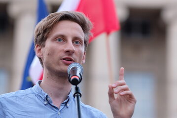Poseł Koalicji Obywatelskiej Franciszek Sterczewski