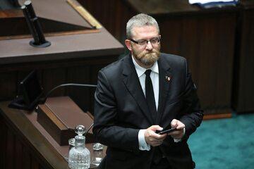 Poseł Konfederacji Grzegorz Braun