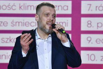 Poseł Lewicy, szef Razem Adrian Zandberg