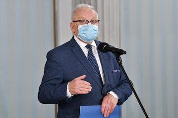 Poseł PiS Bolesław Piecha