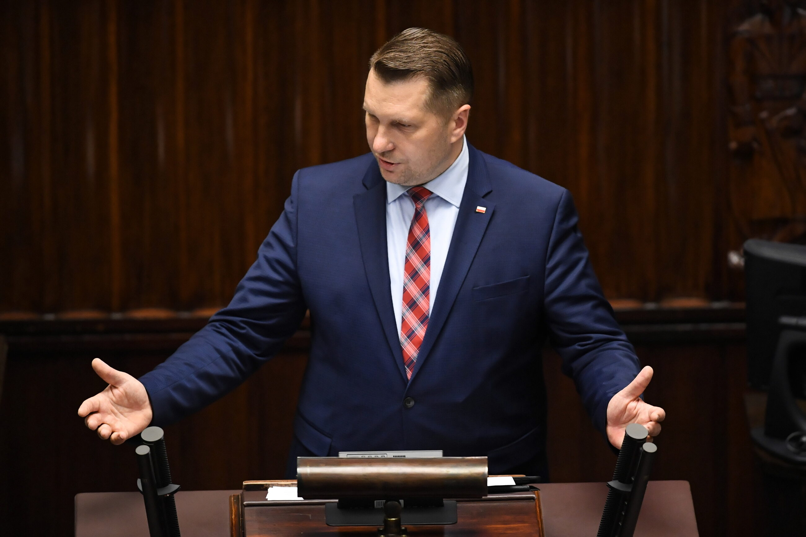 Poseł PiS Przemysław Czarnek