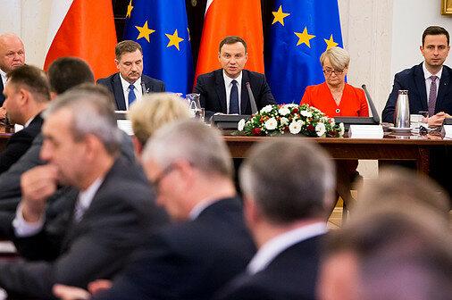 Posiedzenie Rady Dialogu Społecznego