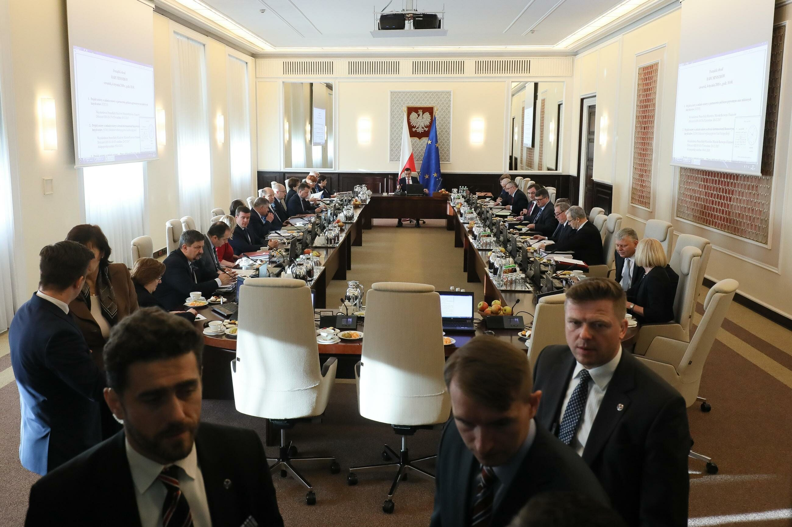 Posiedzenie rządu w KPRM