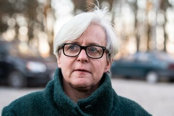 Posłanka PO Joanna Kluzik-Rostkowska