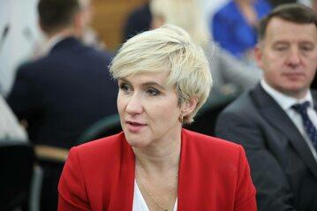 Posłanka PSL Urszula Pasławska