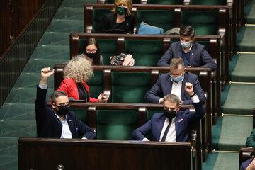 Posłowie Lewicy w Sejmie