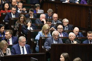 Posłowie w Sejmie
