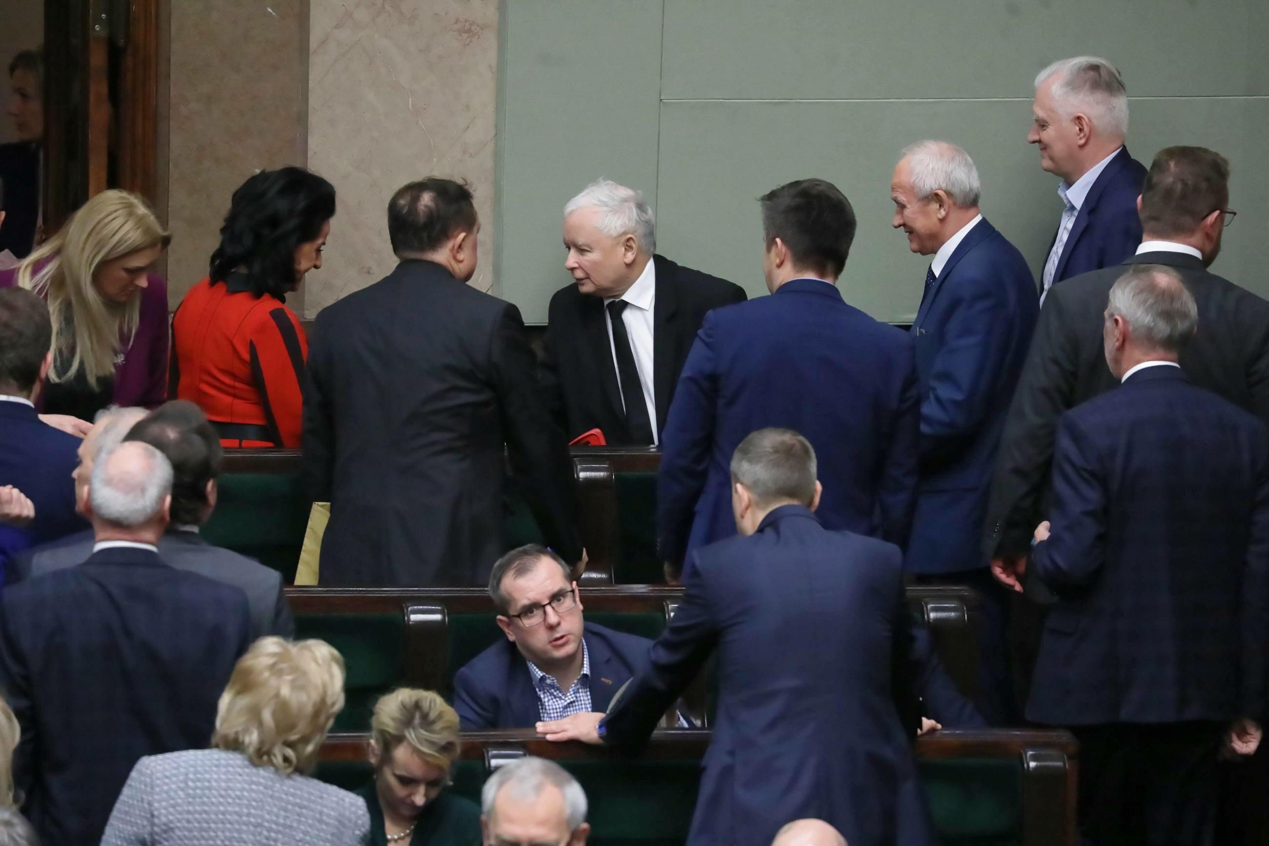 Posłowie Zjednoczonej Prawicy w Sejmie
