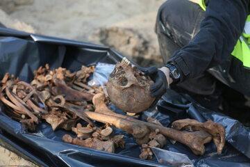 Prace ekshumacyjne Instytutu Pamięci Narodowej