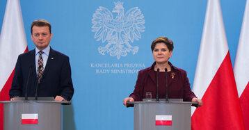 Premier Beata Szydło i minister MSWiA Mariusz Błaszczak wezmą udział w Wielkopolsce w odprawie służb mundurowych