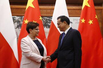 Premier Beata Szydło z wizytą w Chinach