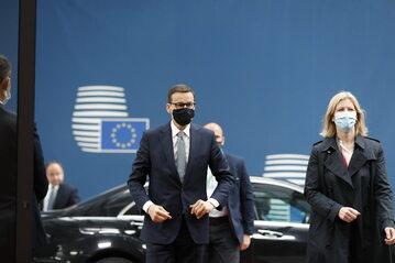 Premier Mateusz Morawiecki na szczycie UE w Brukseli