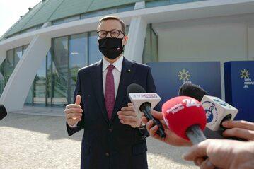 Premier Mateusz Morawiecki w Porto