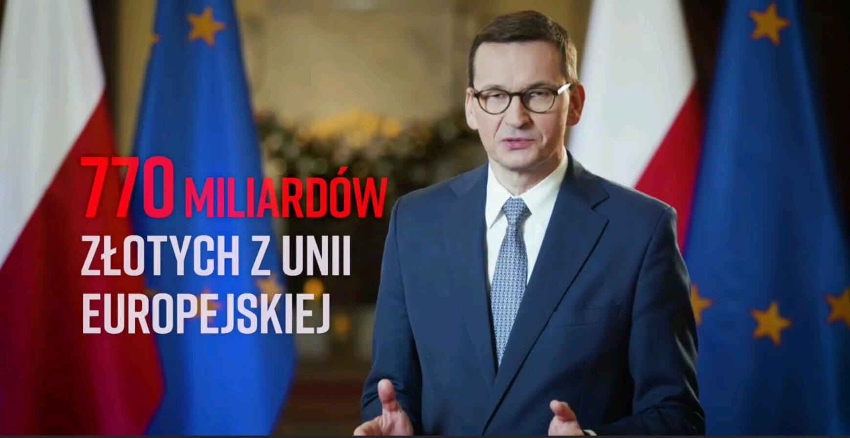 Premier Mateusz Morawiecki w spocie KPRM