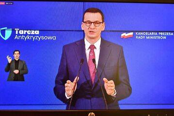 Premier RP Mateusz Morawiecki.