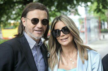 Prezenterka Małgorzata Rozenek-Majdan z mężem Radosławem Majdanem
