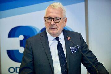 Prezes Naczelnej Rady Lekarskiej prof. Andrzej Matyja