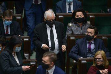 Prezes PiS, wicepremier Jarosław Kaczyński