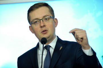 Prezes Ruchu Narodowego, poseł niezrzeszony Robert Winnicki