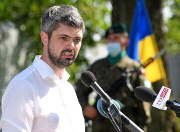 Prezes ukraińskiego Instytutu Pamięci Narodowej Anton Drobowycz