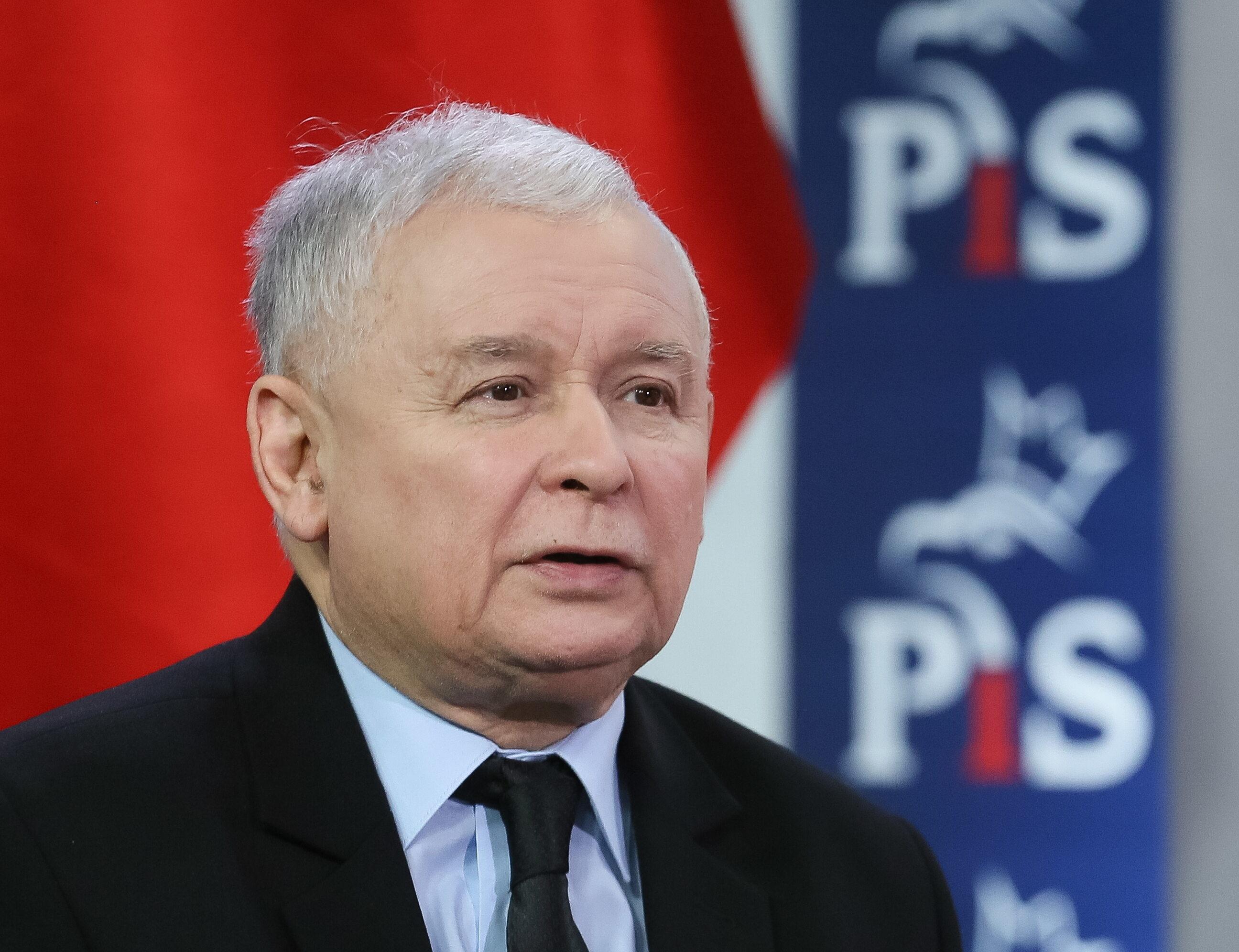 Prezez PiS Jarosław Kaczyński