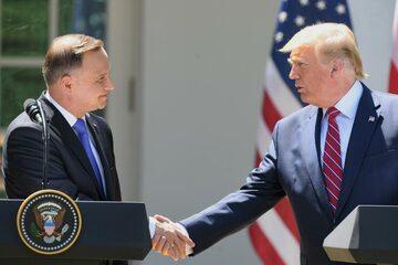 Prezydenci Polski i USA