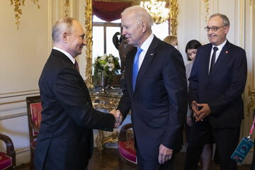 Prezydenci Rosji i USA. Spotkanie Władimira Putina i Joe Bidena w Genewie