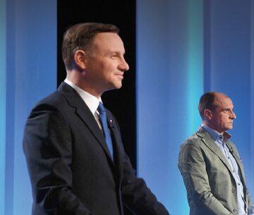 Prezydent Andrzej Duda i Paweł Kukiz