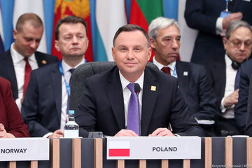 Prezydent Andrzej Duda na szczycie NATO w Londynie