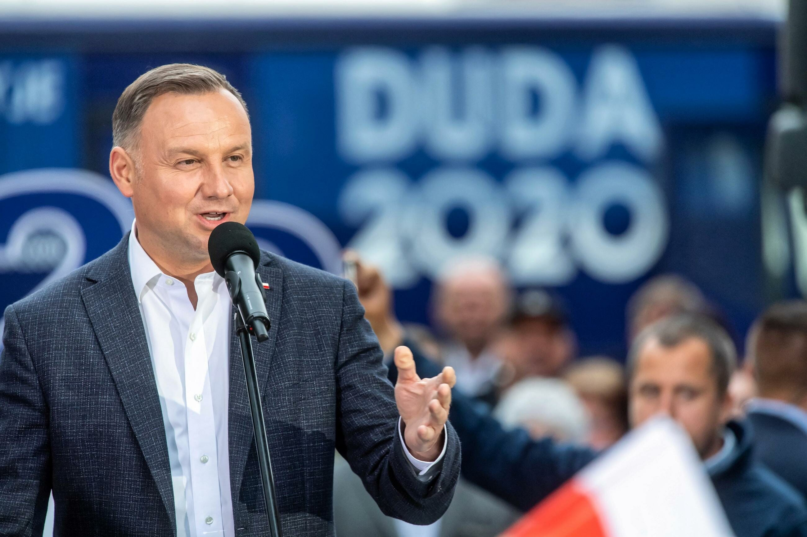 Prezydent RP Andrzej Duda.