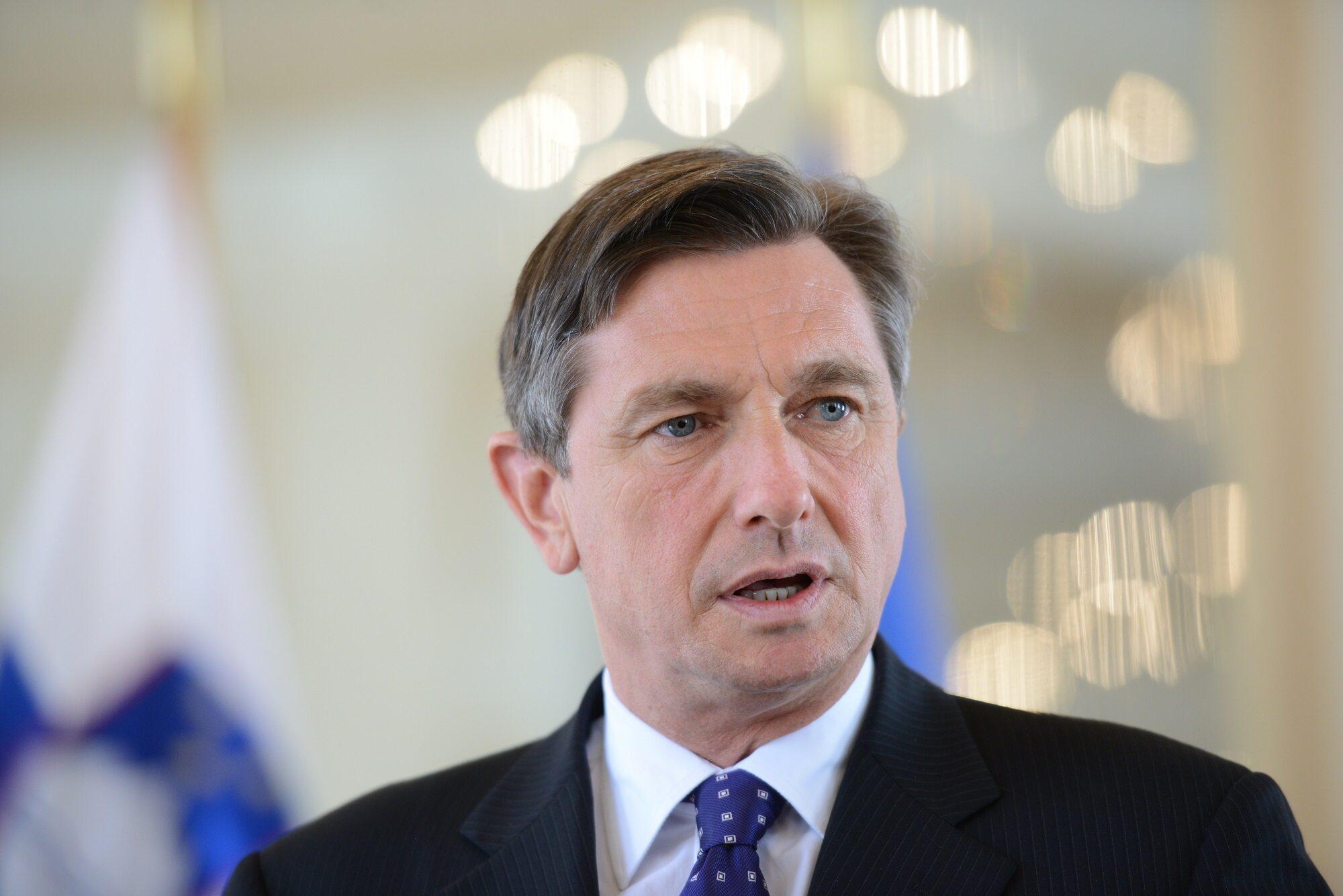 Prezydent Słowenii Borut Pahor