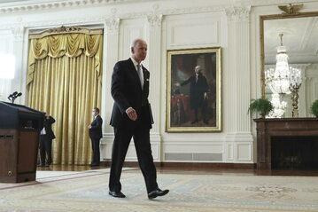 Prezydent USA Joe Biden w Białym Domu. Zdj. ilustracyjne