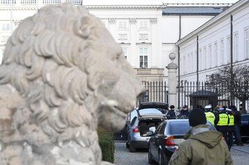 Próba sforsowania Pałacu Prezydenckiego